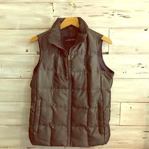Lands' End down puffer vest